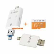 SAE 32G 64G i-Flash Drive HD USB Micro SD OTG Drive 32GB 64GB iOS iPhone Samsung
