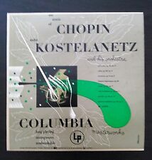 "The Music of Chopin Andre Kostlanetz Columbia ML2056 LP 10"" (1949) 33 RPM LP S7"