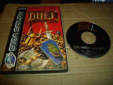 GOLDEN AXE THE DUEL SEGA SATURN GAME BOXED