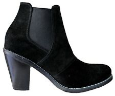 Women shoes short boots suede leather fashion western Nancy Us size 3.5 to 12