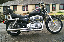 HARLEY-DAVIDSON XL 883L SPORTSTER VERY CEAN WITH VERY LOW MILEAGE, EXTRAS