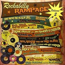 Vol. 2-rockabilly Rampage - Rockabilly Rampage New & Sealed LP Free Shipping