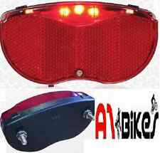 Oxford Ultra 5 LED Rear Pannier Rack / Carrier Fitting Bike Light  Free Delivery