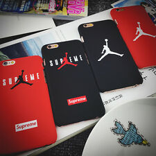 Michael Jordan Supreme Jumping Chicago Bulls Hard Case for iphone 5 5S 6 6 Plus