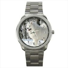 Samoyed Stainless Steel Watches - Puppy Dog