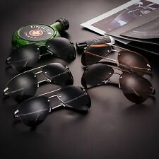 New Mens HD Polarized Aviator Sunglasses Driving Outdoor sports Eyewear Glasses