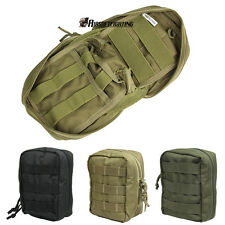 Large 1000D MOLLE Tactical First Aid Gear Soldiers Medical IFAK Kit Pouch Bag