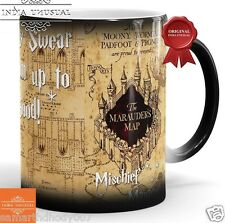 HARRY POTTER MARAUDERS MAP QUOTE Magic Color Changing Coffee Mug Home Decor EDH
