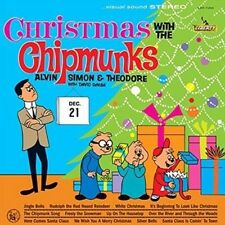 Christmas With the Chipmunks - Chipmunks New & Sealed LP Free Shipping