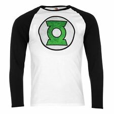 """T SHIRT SUPER HEROS ADULTES """"GREEN LANTERN"""" MANCHES LONGUES - COLLECTION 2016"""