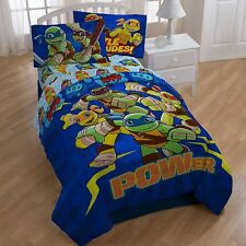 Teenage Mutant Ninja Turtles TMNT 4pcTwin & 5pc Full Reversible Bedding Set