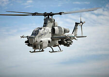 Helicopter Military Aircraft Large Poster Print - A0, A1, A2, A3, A4