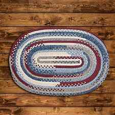 Colonial Mills Olivera Oval Country Cotton Braided Rug Antique Red OV09