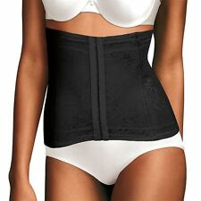 Maidenform Ultimate Slimmer Firm Control Curve-Loving Waistnipper 6868 Black
