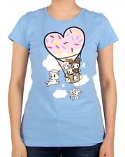 Tokidoki My Balloon Donutella and Friends Ladies Junior Tee