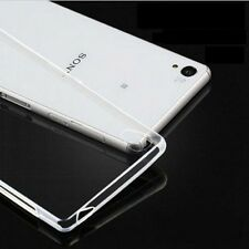1 pcs Transparent Clear TPU Silicone Gel Case Skin Cover For Sony Xperia series