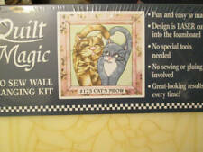 Quilt Magic No Sew Wall Hanging Kit-Your Choice 11.75x11.75 Inches-Eagle/Butterf
