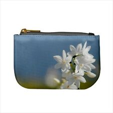 Jasmine Flowers Mini Coin Purse & Shoulder Clutch Handbag