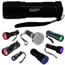 Various Blacklights Flashlights for Astronomy Night Vision Inspection Detection