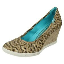 Ladies Keds Wedge Shoes The Style Wedge Skimmer Animal