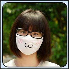 Women White Health Wind Cycling Anti-Dust Cotton Mouth Face Respirator Mask New