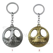 "Nightmare Before Christmas Jack Lentern 5cm/2"" Pewt Metal Keyring Chain Loose"