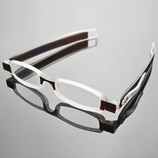 New Folding 360° Rotation Reading Eyeglass Glasses +1.0 +1.5 +2.0 +2.5 +3.0 +4.0