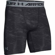 Under Armour 2016 Mens HeatGear Printed Compression Shorts Gym Baselayer