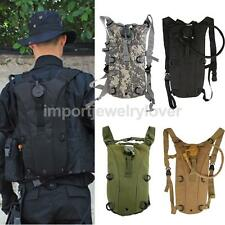 3L/2.5L Hydration System Bladder Water Bag Backpack Outdoor Hiking Camping Pack