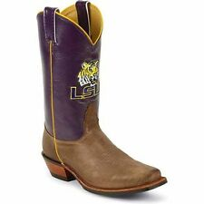 LSU MEN'S PURPLE SHAFT COWBOY BOOT MDLSU21 BY NOCONA