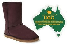 Genuine Australian Sheepskin Classic UGG 3/4 Boots (Raisin)-SYD Stock