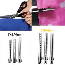 Pinking Shears Scissors Sewing Craft Upholstery Dressmaking Tailor Zig-Zag Tool