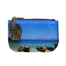 Krabi Thailand Mini Coin Purse & Shoulder Clutch Handbag