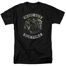 """The Three Stooges """"Wise Guy Customs"""" T-Shirt or Tank - Adult, Child"""