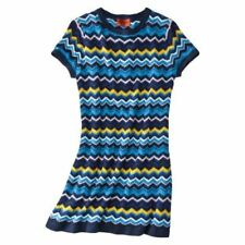 NEW! Authentic Missoni Knit Sweater Dress - Fully lined VIA Blue Chevron