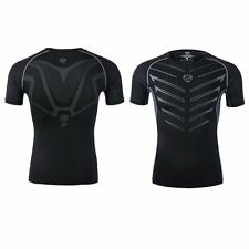 Men Quick Dry Compression Under Base Layer Shirts Fitness Training Athletic Tops