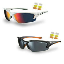 Sunwise Equinox sunglasses - with 4 interchangeable lenses and soft case