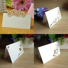 50 Place Name Cards for Wedding Party Birthday Event Baby Shower Table Setting