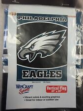 "Philadelphia Eagles Official NFL 27"" x 37"" Banner Flag Philly by Wincraft 573292"