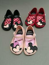 Summer Cartoon Kids Sandal Girl Minnie Jelly Soft Shoes New Toddler Size 6 - 11