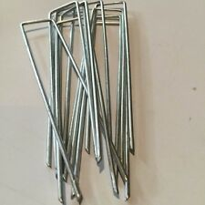 2.8mm Anchor Pegs for Weed Mat Tent Pegs Tarpaulin Pins 150mm x 150mm All Qty's