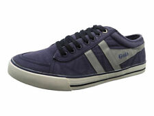 Gola Comet Mens Boys New Fashion Canvas Trainers Shoes in Navy / Grey UK 12