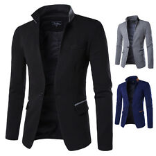 Mens Blazer Jacket Formal Smart Luxury Fashion Design Longsleeve Slim Fit