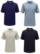 Mens Debenhams Short Sleeve Pure Cotton Polo T Shirt Size S M L XL XXL XXXL