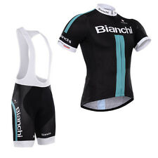 Bicycle Jersey Bib Shorts Suit Mens Road Bike Team Cycling Garments Size S-3XL