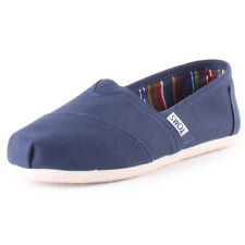 Toms 2A07 Mens Canvas Navy Espadrilles New Shoes All Sizes