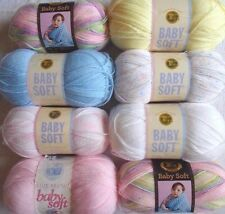 Lion Brand BABY SOFT in 4 color choices~pick 1 or more