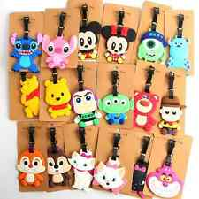 130 Styles Disney Mickey Minnie Winnie Stitch Duffy Star Wars Moana Luggage Tags