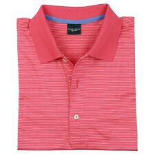 FAIRWAY & GREENE MEN'S GOLF SHIRT GLEN STRIPE LISLE SIZE MEDIUM F31209  NWT