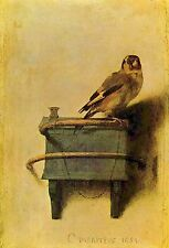A3 SIZE - The Goldfinch - Carel Fabritius Poster Print